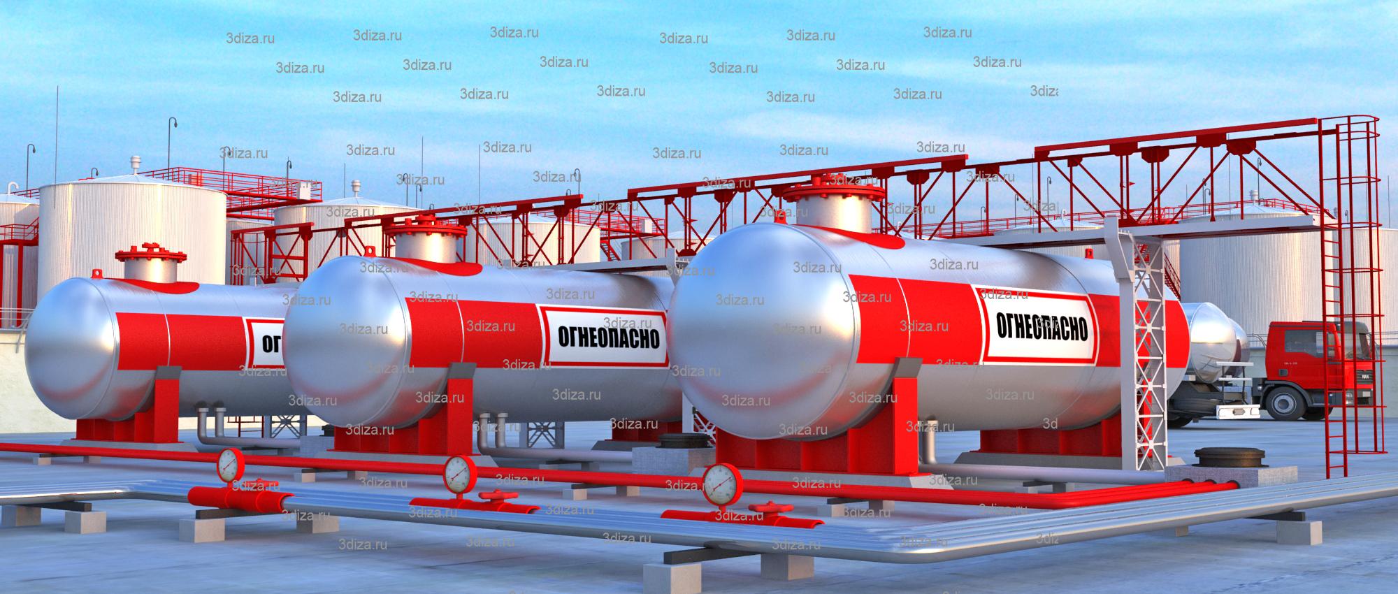 резервуар для нефтепродуктов стоимость